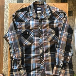 Wrangler Western Shirts Button Down